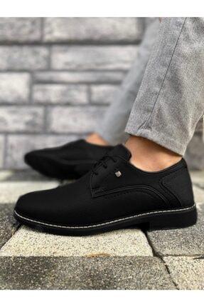 Marsetti Erkek Siyah Klasik Casual Ayakkabı 3