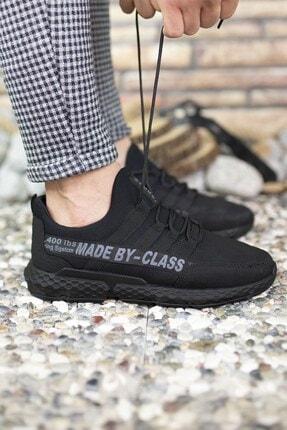 Riccon Siyah Erkek Cilt Sneaker 0012santo 3