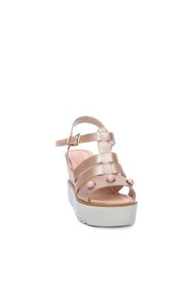 Kemal Tanca Kadın Derı Sandalet Sandalet 169 51516 Pls Bn Sndlt 1