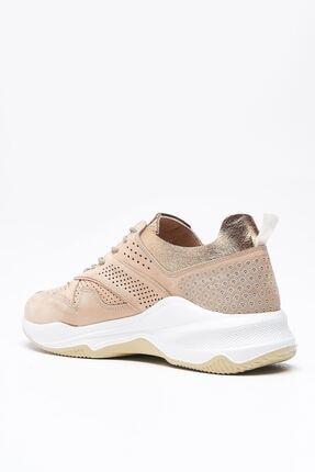 Louis Cardy Nixus Bej Nubuk Hakiki Deri Kadın Sneakers 3