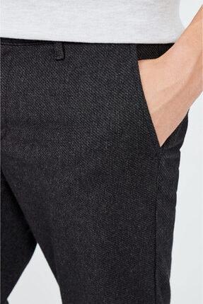 Avva Erkek Antrasit Yandan Cepli Flanel Slim Fit Pantolon A02y3057 1