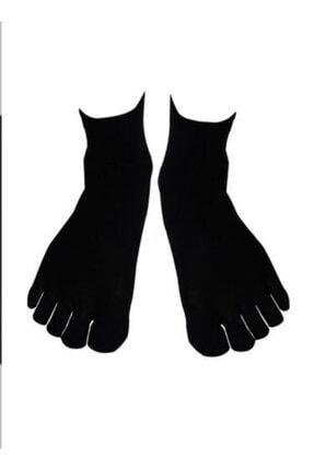 AKDEMİR 6'lı Paket Mantar Ve Koku Önler Parmaklı Çorap Karışık Renk 1
