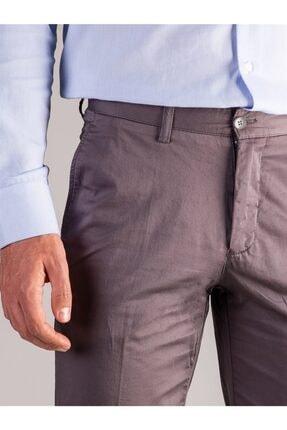 Dufy Füme Düz Erkek Pantolon - Regular Fıt 1