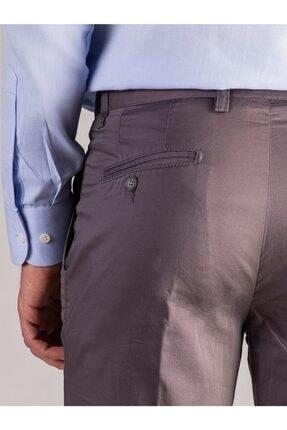 Dufy Füme Düz Erkek Pantolon - Regular Fıt 3