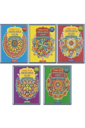 Gönül Yayıncılık Mandala 7den 77 Ye 5 Li Boyama Seti 0
