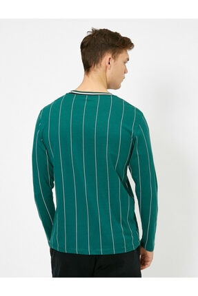 Koton Erkek Çizgili T-shirt 3
