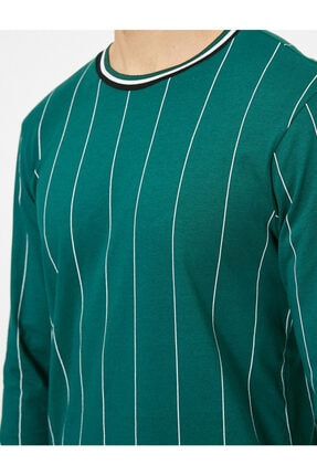 Koton Erkek Çizgili T-shirt 4