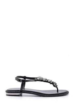 Derimod Kadın Taşlı Sandalet 0