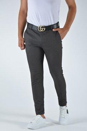Terapi Men Erkek Slim Fit Keten Pantolon 20y-2200337 Antrasit 0