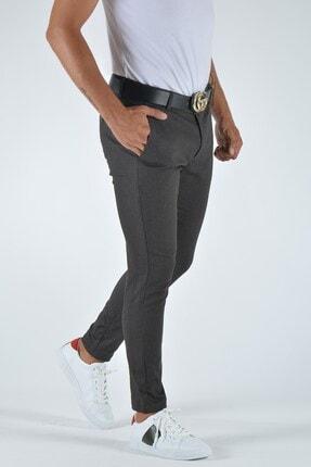 Terapi Men Erkek Slim Fit Keten Pantolon 20y-2200337 Antrasit 1