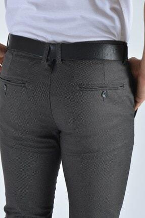 Terapi Men Erkek Slim Fit Keten Pantolon 20y-2200337 Antrasit 4