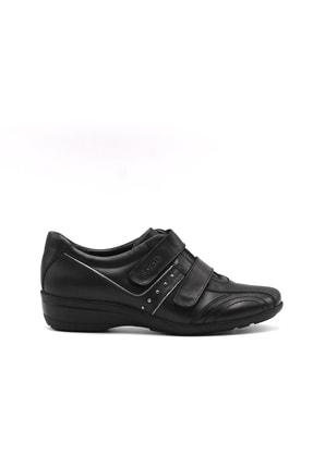 تصویر از 17207 Kadın Günlük Hakiki Deri Ayakkabı Siyah