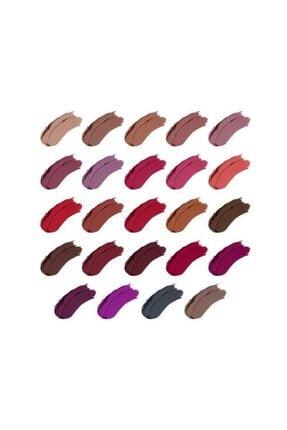 NYX Professional Makeup Shout Loud Satın Lıpstıck 6 - Love Is A Drug 3