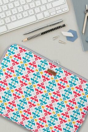 Easy Case 14 Inç Laptop Çantası Notebook Kılıfı Ethnic New resmi