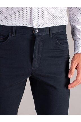 Dufy K.lacivert Düz Erkek Pantolon - Regular Fıt 1