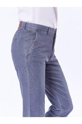 Dufy Açık Gri Büyük Beden Düz Erkek Pantolon - Battal 1