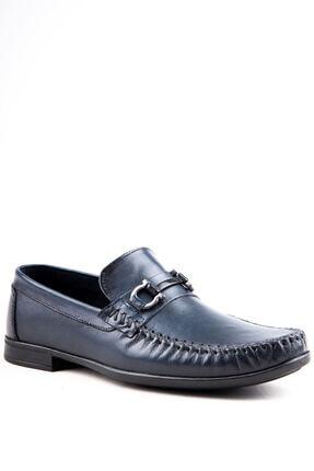 Milano Brava Hakiki Deri Günlük Loafer Erkek Ayakkabı Hsm904 Lacivert 1