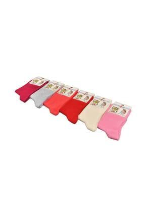 Design Socks Çocuk Asorti Soket Çorabı (6 Çift) 1-11 Yaş - Desen Çorap 2