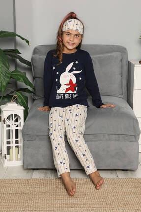Mossta Uzun Kol Çocuk Pijama Takımı 1