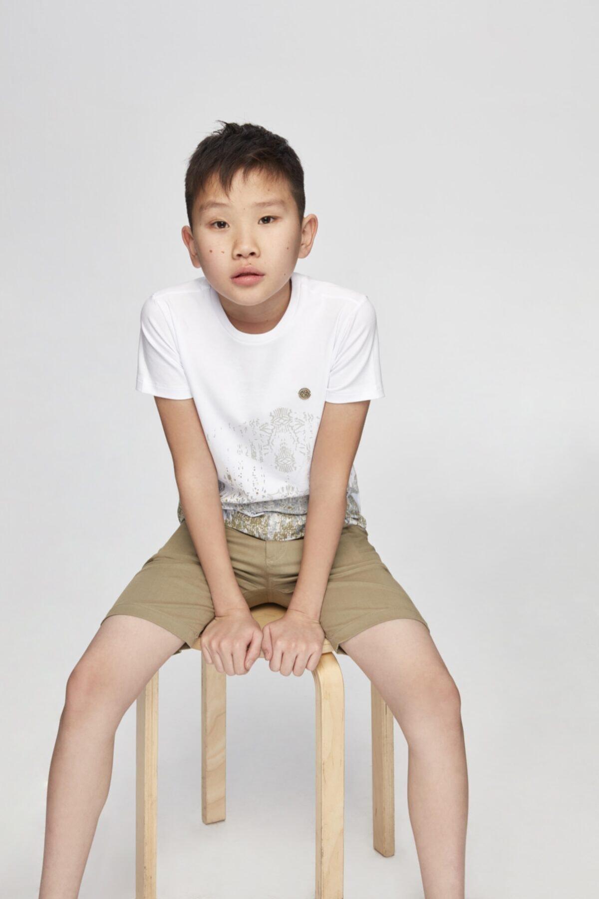 Erkek Çocuk Bej Şort
