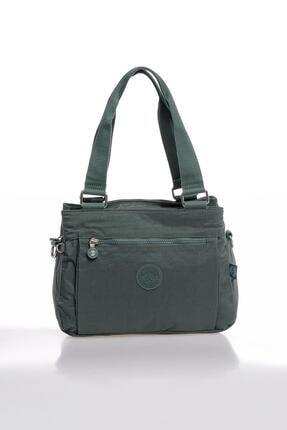 Smart Bags Smbky1125-0005 Haki Kadın Omuz Çantası 0