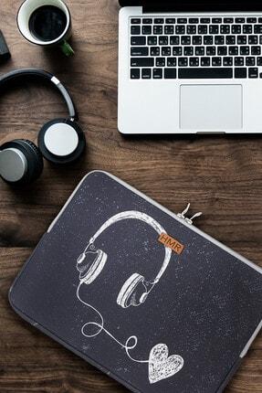 Easy Case 14 Inç Laptop Çantası Notebook Kılıfı Music New resmi