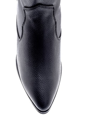 Derimod Kadın Topuklu Kovboy Bot 4