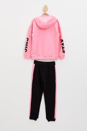 Defacto Kız Çocuk Baskılı Sweatshirt Ve Jogger Eşofman Takım 1