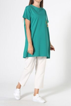ALLDAY Zümrüt Baskılı Kısa Kol T-shirt 2