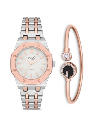 POLO Rucci 2182 Bileklik Setli Kadın Kol Saati 0