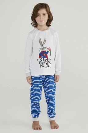 Penti Çok Renkli Erkek Çocuk Super Bunny 2li Pijama Takımı 1