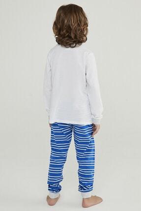 Penti Çok Renkli Erkek Çocuk Super Bunny 2li Pijama Takımı 3