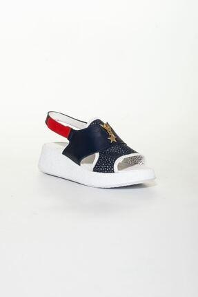 derithy Kadın Lacivert Sandalet 2