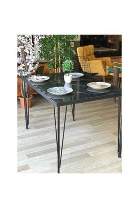 İlgi Trafik Yemek Masası, Salon Mutfak Masası, ''ceviz Desenli 120cm X 80cm Masa'' 1