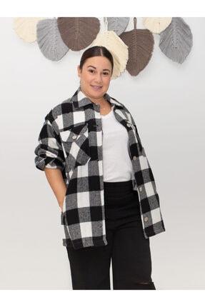 SESTRİ BUTİK Kadın Oduncu Ekose Gömlek 1