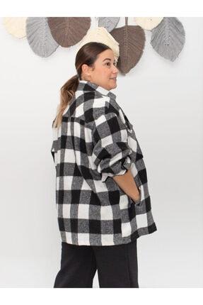 SESTRİ BUTİK Kadın Oduncu Ekose Gömlek 2
