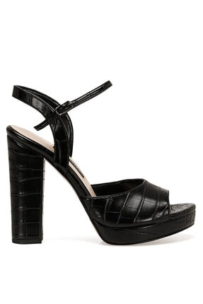 Nine West CENDO Siyah Kadın Topuklu Sandalet 100526407 0