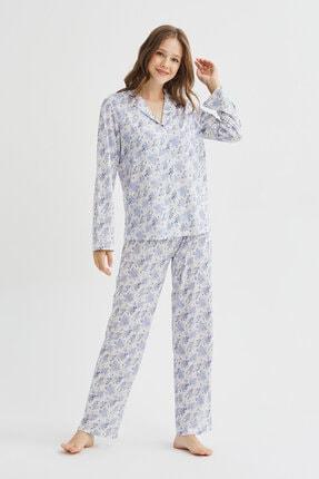 Penti Çok Renkli Blue Blossom Pijama Takımı 1