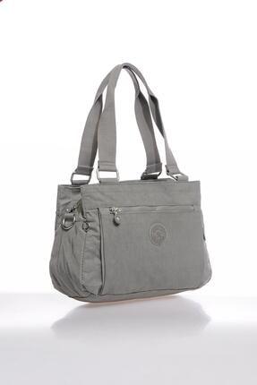 Smart Bags Smbky1125-0078 Gri Kadın Omuz Çantası 1