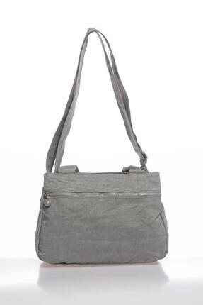 Smart Bags Smbky1125-0078 Gri Kadın Omuz Çantası 2