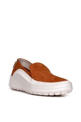 BUENO Shoes Hakiki Deri Bağcık Detaylı Kadın Spor Ayakkabı 20wq7603 1