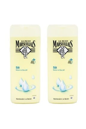 Le Petit Marseillais Süt Duş Jeli 400 ml X 2 Adet 0