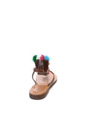Kemal Tanca Kadın Derı Sandalet Sandalet 607 3075 Byn Snd 2