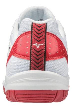 Mizuno Cyclone Speed 2 Unisex Voleybol Ayakkabısı Beyaz / Kırmızı 4