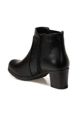 Polaris 161278.z Siyah Kadın Topuklu Bot 2