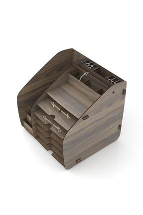 Design OTTO Fx Xlarge Modest - 6 Renk - A4 Evrak Rafı Masaüstü Organizer 4