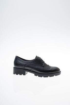 Diego Carlotti Hakiki Deri Günlük Oxford Kadın Ayakkabı 2