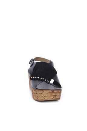 Kemal Tanca Kadın Derı Sandalet Sandalet 169 6702 Bn Sndlt 1