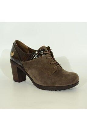Mammamia Kadın Deri Topuklu Ayakkabı 3055 1