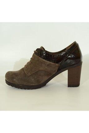 Mammamia Kadın Deri Topuklu Ayakkabı 3055 2